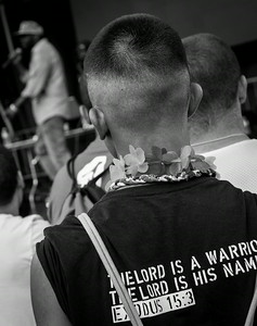 """The Lord is a Warrior. The Lord is his Name.""  Exodus, 15:3"