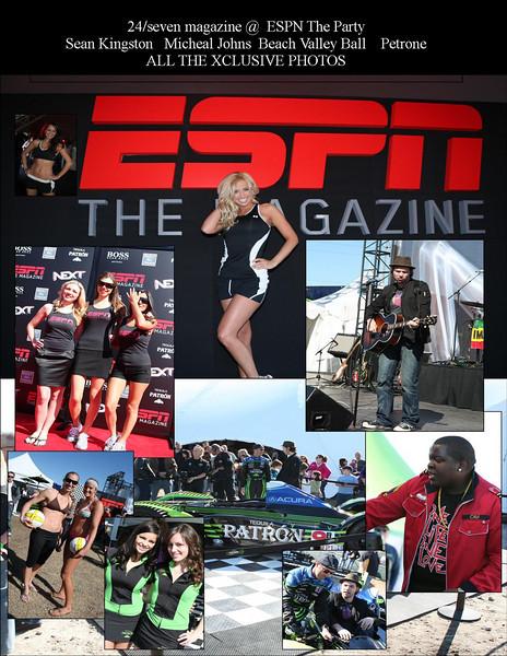 ESPN, The Magazine, Party,Petrone,Sean Kingston, Micheal Johns