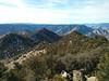 Morris Peak summit view.<br /> <br /> Back towards Walker Pass.