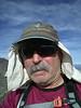 Morris Peak summit self-portrait.