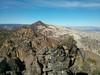 Morris Peak summit view.<br /> <br /> Owens Peak.