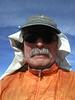 Mt. Jenkins summit self-portrait.