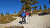 Shin and I just below the summit of Mt. Baldy.