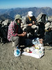 A feast on the summit.