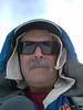 Mt. Baldy summit self-portrait.