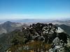 Mt. Jenkins summit view.<br /> <br /> Looking down the ridge.