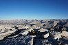 "Mt. Whitney summit view.<br /> <br /> ""North."""