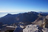"""Mt. Whitney summit view.<br /> <br /> """"South."""""""