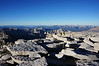 "Mt. Whitney summit view.<br /> <br /> ""West,"""