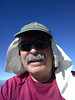 Owens Peak summit self-portrait.