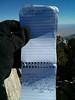 Owens Peak summit register entry.