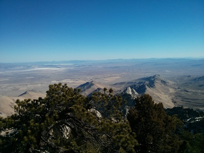 Owens Peak summit view.