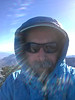 Owens Peak summit selfy.