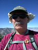 Proposal Peak summit self-portrait.