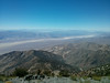 Telescope Peak summit view.<br /> <br /> Trying to get a photo of the Sierra.