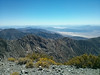Telescope Peak summit view.<br /> <br /> Home is that way...
