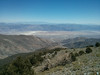 Looking down to Badwater.