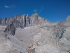 Thor Peak summit view.<br /> <br /> Mt. Whitney and more.