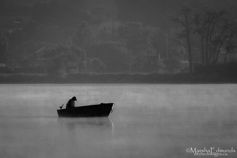 Alone on the Lake
