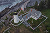 Above Pemaquid Point Lighthouse 0103 w74