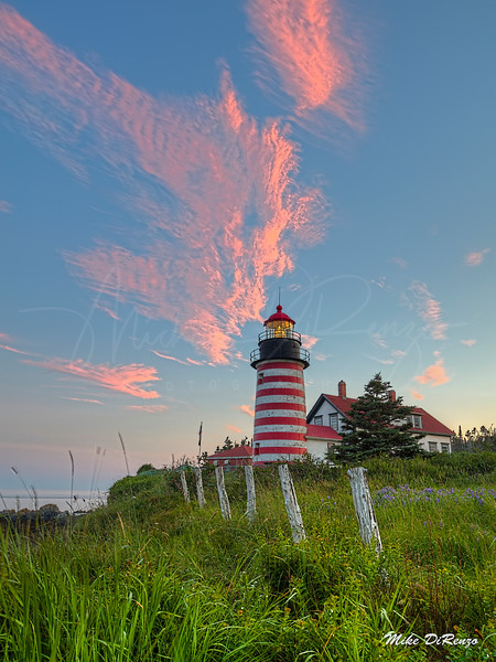 West Quoddy Sunset 1105 w63