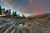 Pemaquid Point Sunset 9771 w57