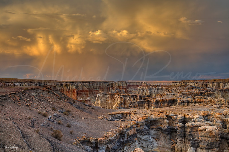 Storm Warning in Coal Mine Canyon 6851 w65