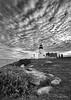 Pemaquid Cloudy Evening 1288 w63