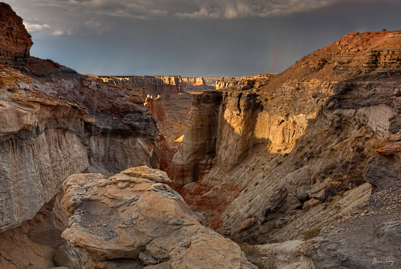 Ledge Over the Canyon 6786 w65