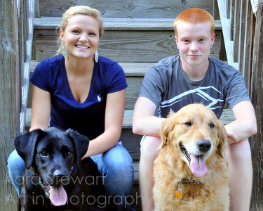 October 5, 2011  Yet another quick snapshot of the kids and dogs from last week when they were over for dinner. One more of these tomorrow and then on to other topics!