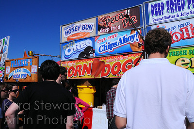 Oct. 25, 2010  Loaded up one for tomorrow, since I won't be able to with the start of the work week.    This just goes to show that you really can get fried anything you want!  Shot this also at the NC State Fair over the weekend.