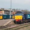 57602 and 37407 at Norwich