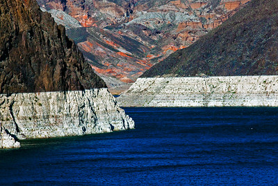 Colorado River Lake Mead from Hoover Dam NV_1839