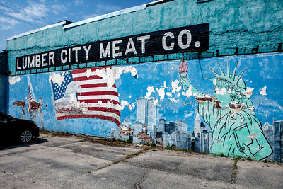Mural Lumber City Meat Co_1998