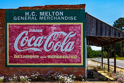 H C Melton Coke Mural Allentown GA_1880
