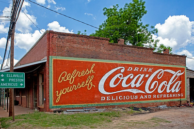 Coke Mural Plains GA_2013