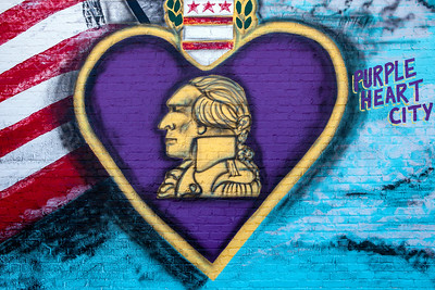 Mural Purple Heart City McRae GA_2009-2