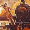 Train Mural Lufkin TX_1070