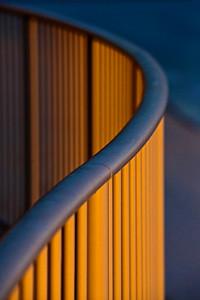 Railing at Sunset Turquiose Place Orange Beach AL_0827