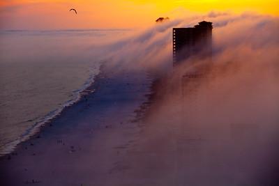 Fog Rolling in Over Orange Beach AL_0798