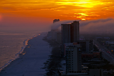Sunset View from Turquiose Place Orange Beach AL_0854