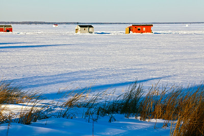 Ice Houses Lake Mille Lacs MN_0009