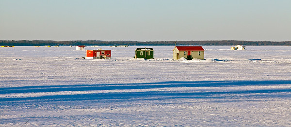 Ice Houses Lake Mille Lacs MN_0008