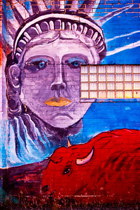 Lady Liberty Bison Mural_9386