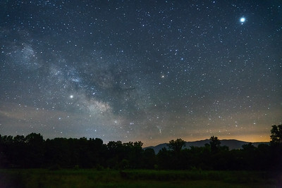 Milky Way over the Foothills