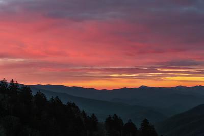 Pre-dawn Skies over the Smokies