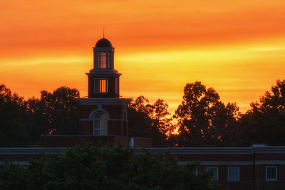 Maryville Municiple Building at Sunset