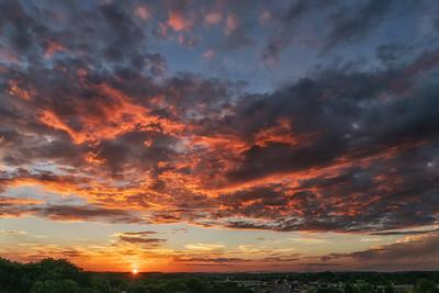 Sunset from Sullivans