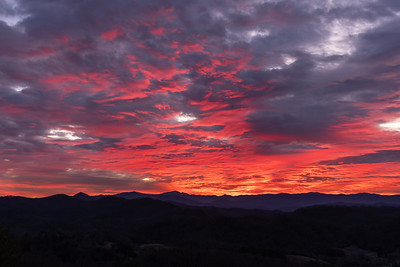 Sunrise over the Smokies