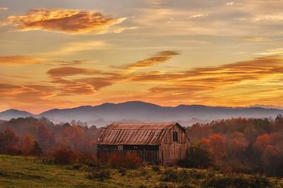 Ridge Road Sunrise